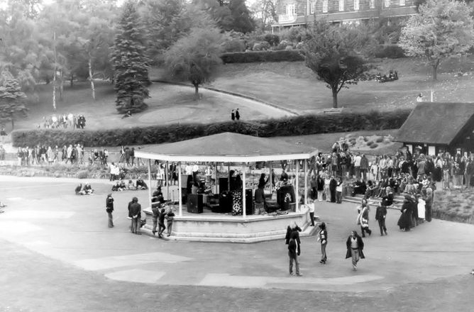 Big view of bandstand