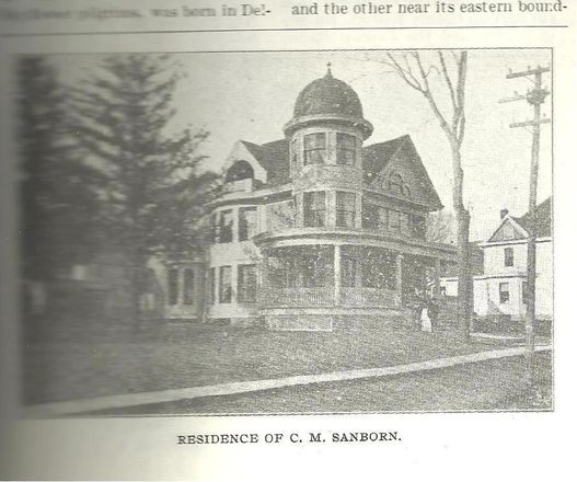 C.M Sanborn Residence