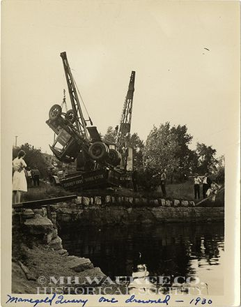 Manegald Stone Quarry drowning
