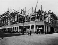 The construction of Selfridges
