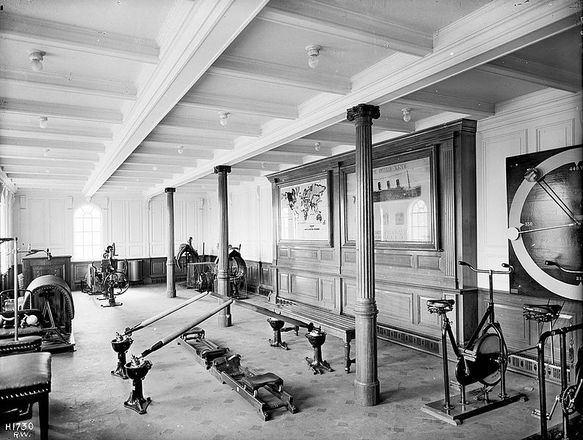 Titanic, first class gym