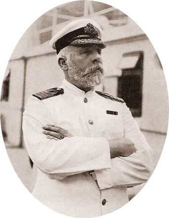 Captain Edward Smith of the Titanic