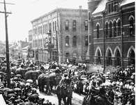 Circus Parade, King St. E. and Benton