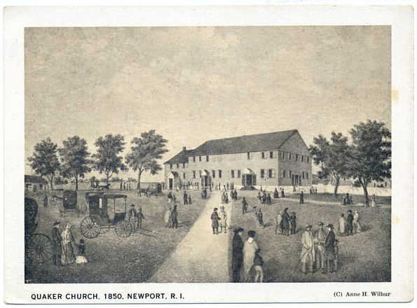 View of Great Friends Meeting House.