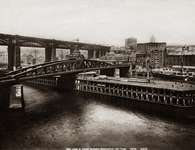 Swing Bridge, Newcastle upon Tyne, 1880-1900