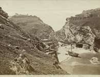 Tintagel Castle, Cornwall, 1850-1900