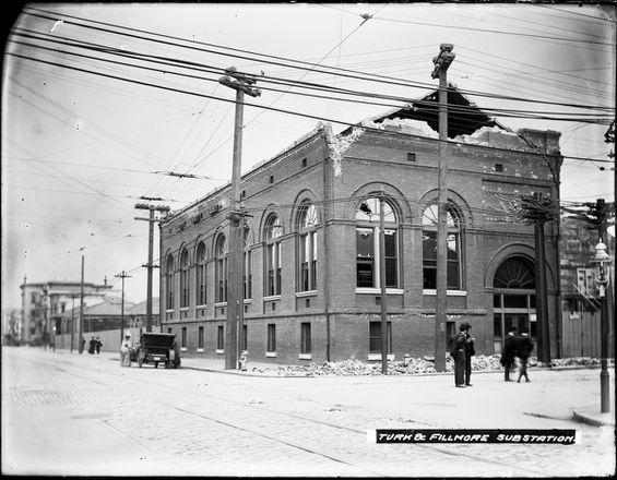 Turk & Fillmore Street Sub Station |  U00795