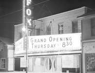 Fox Theatre, King St. E., Kitchener, opening night