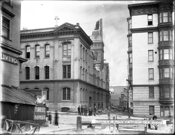 Sutter & Polk Powerhouse After Earthquake | U00785