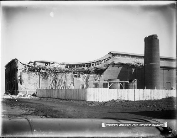 North Beach Powerhouse After Earthquake | U00788