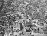 Aerial view of Duke St., west from Frederick St.