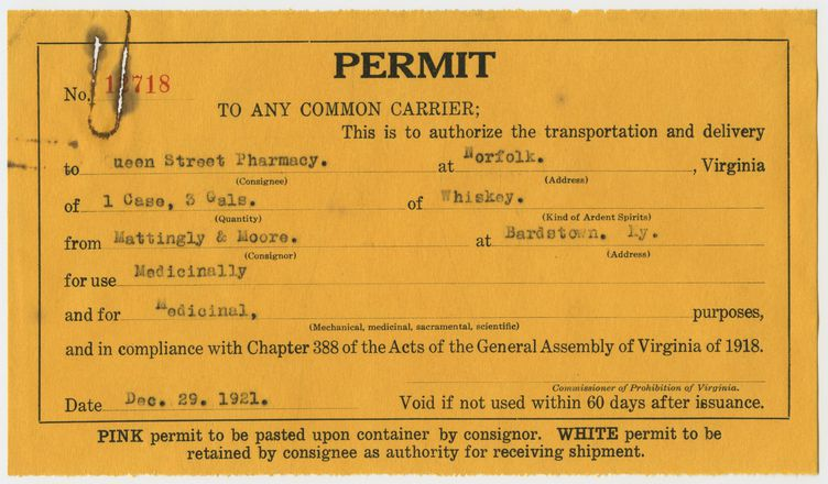 Permit 12718, Queen Street Pharmacy