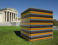 "Liam Gillick's ""Stacked Revision Structure,"" 2005"